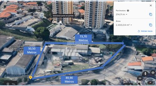 Excelente Terreno Com Com 2403 Metros No Butantã - Pp18764