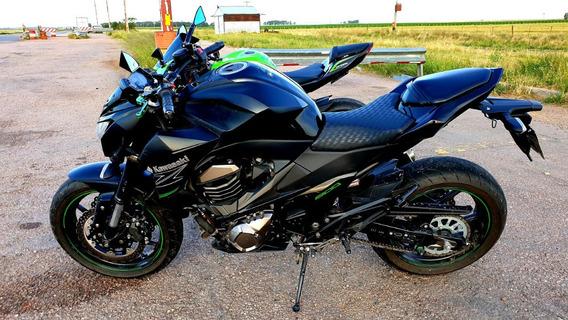 Kawasaki Naked 4 Cilindros Z800 2014 - 8.600 Km Inmaculada
