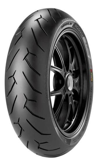 Pneu Moto Pirelli Aro 17 140/70-17 66h Traseiro Diablo Rosso