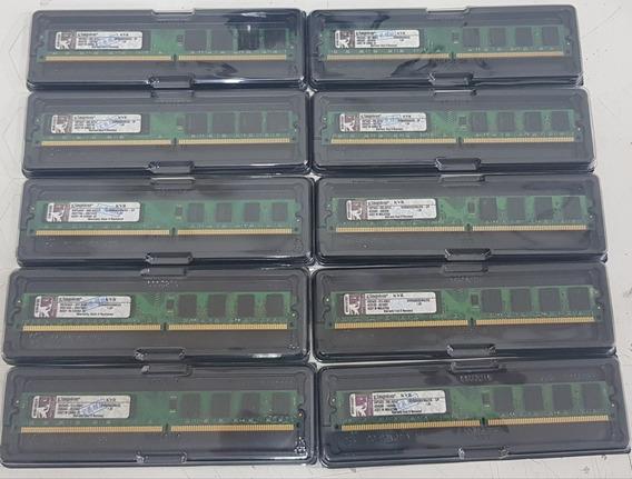 10x Unidades Memoria 2gb 800mhz Ddr2