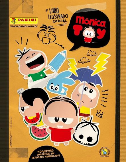 Álbum Monica Toy + 100 Figurinhas Soltas E S/ Repetição