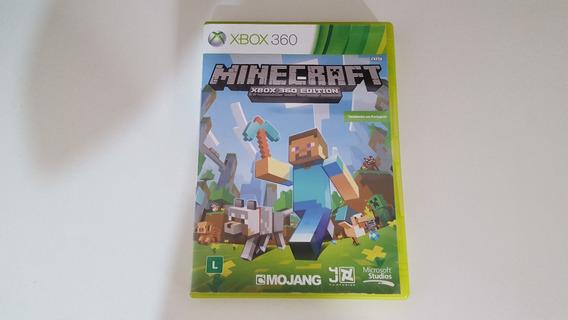 Minecraft Em Português Xbox 360 Original Ntsc Mídia Física Envio 12,00