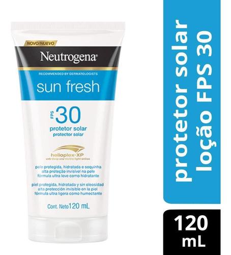 Protetor Solar Neutrogena Sun Fresh Corpo Fps 30 120ml