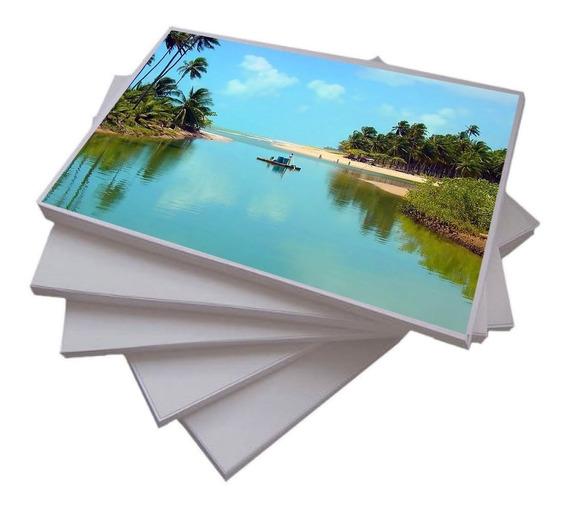 100 Folhas Papel Fotografico A4 Prova D