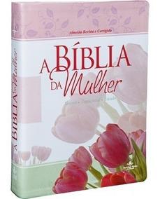 Bíblia Da Mulher Estudo Devocional Média + Brinde Capa