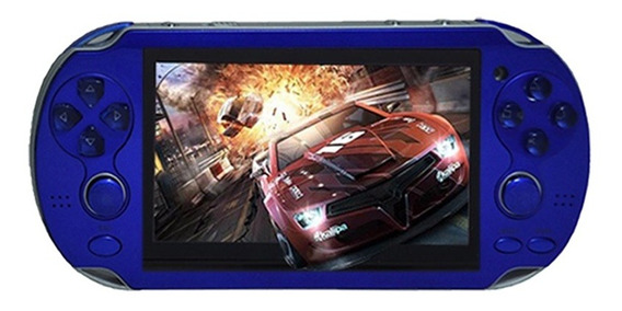 Jogo Portátil Multifuncional Handheld Game Console 4gb Blue
