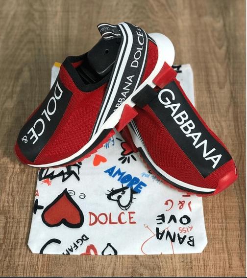 Tênis Dolce & Gabbana Vermelho