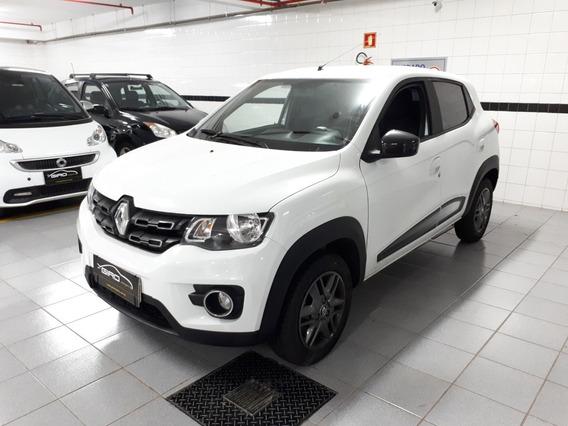 Renault Kwid 1.0 Intense 2018 Branco Único Dono