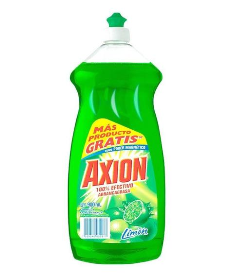 Más Producto Gratis De Lavatrastes Axion Limón Líquido 900 M