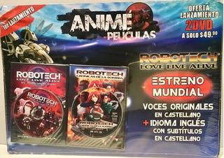 Anime Peliculas Las Mejores ,11 Dvd Coleccion Y Contenedora
