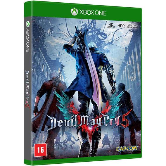Jogo Mídia Física Devil May Cry 5 Original Para Xbox One