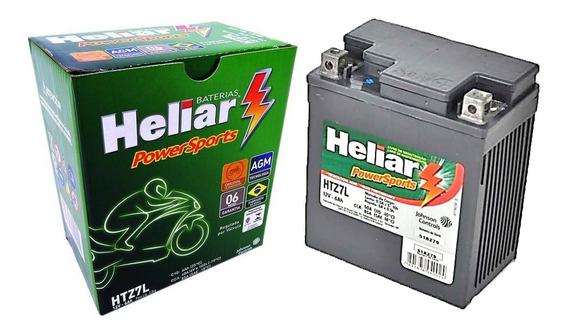 Bateria Moto Heliar Htz7 Twister/tornado/falcon/cb300/fazer