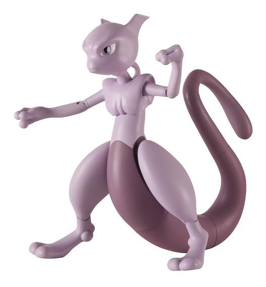 Mewtwo Figura De Ação 12cm Pokémon Nintendo Tomy T18878