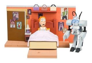 Rick & Morty Diorama Armable- Ahora Me Llamaras Snowball