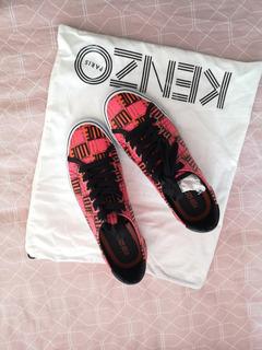 Tenis Zapatos Kenzo Lujo Comodo Coloridos Converse