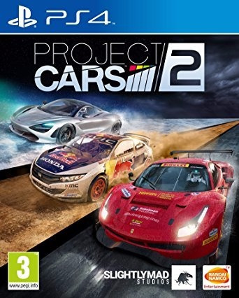 Project Cars 2 Ps4 Midia Fisica