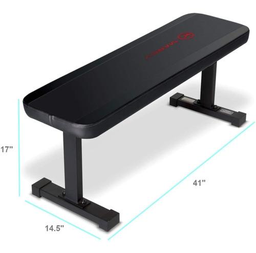 Imagen 1 de 3 de Marcy Flat Utility 600 Lbs Capacity Weight Bench For Weight