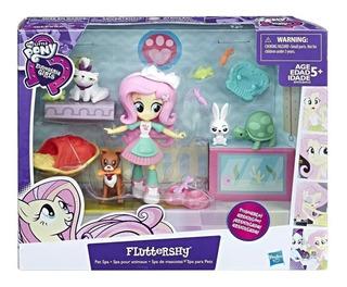My Little Pony Equestria Girls Spa De Mascotas De Fluttershy