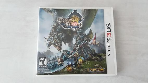 Monster Hunter 3 Ultimate - Nintendo 3ds - Original