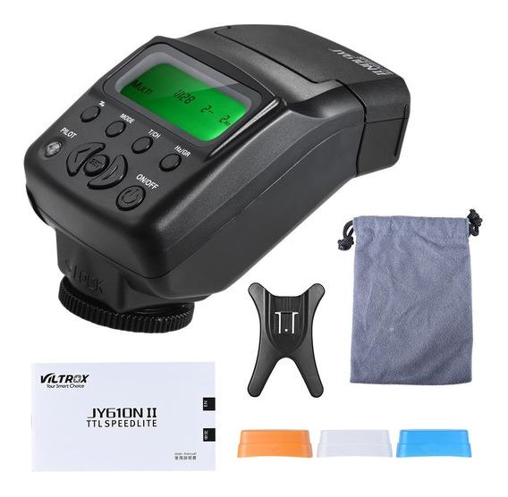 Viltrox Jy 610n Ii I-ttl Em Câmera Mini Flash Speedlite Para