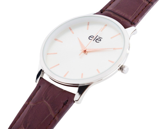 Reloj,relojes Moda Hombre Mujer Casual, Ele 1009-b