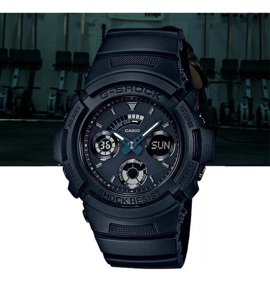 Relógio Casio G-shock Analógico Digital Aw-591bb-1adr Preto