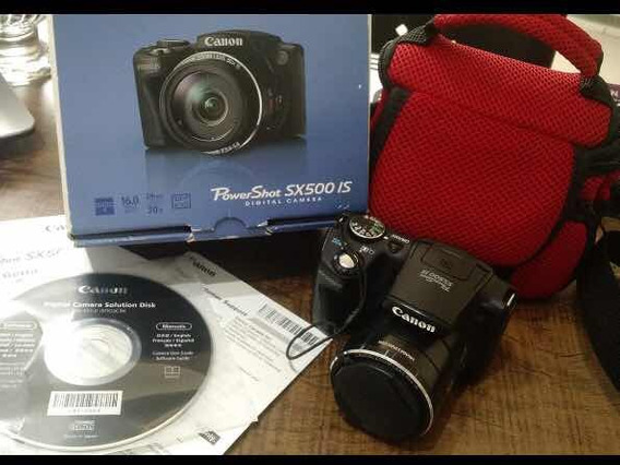 Canon Semi Profissional Sx500 - Câmera Fotográfica