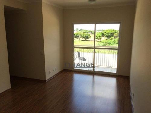 Imagem 1 de 8 de Apartamento Com 3 Dormitórios À Venda, 69 M² Por R$ 420.000,00 - Morumbi - Paulínia/sp - Ap18348