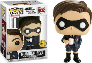 Funko Pop! The Umbrella Academy Number Five Chase