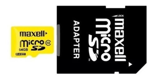 Memoria Maxell Original Micro Sd Xc 64gb Clase 10 64 Gb