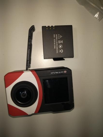 Câmera Xtrax Action 4k Full Hd Com Wifi Com Brinde Bastão
