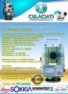 Estacion Total Leica Viva Ts15 A