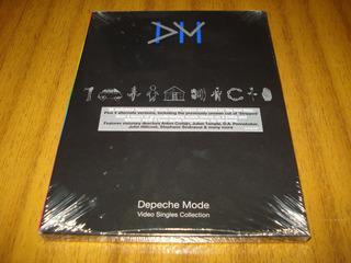 Dvd Depeche Mode / Video Singles (nuevo Y Sellado) 3 Discos