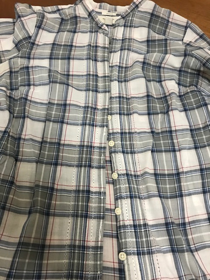 Camisa Abercrombie & Fitch Talle M/l Impecable. Livianisima