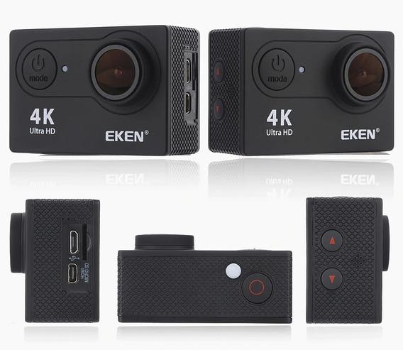 Câmera Eken H9r Original 4k 32gb Com Case Vários Acessórios