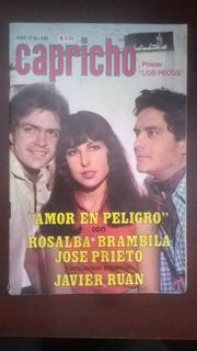 Rosalba Brambila Y Jose Prieto En: Fotonovela Capricho