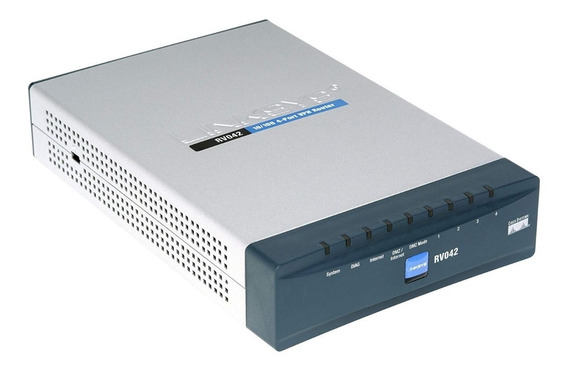 Balanceador De Internet Cisco Rv042 4-port 10/100 Vpn