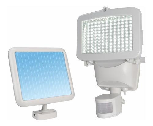 Lámpara Con Sensor De Movimiento Recargable Con Panel Solar