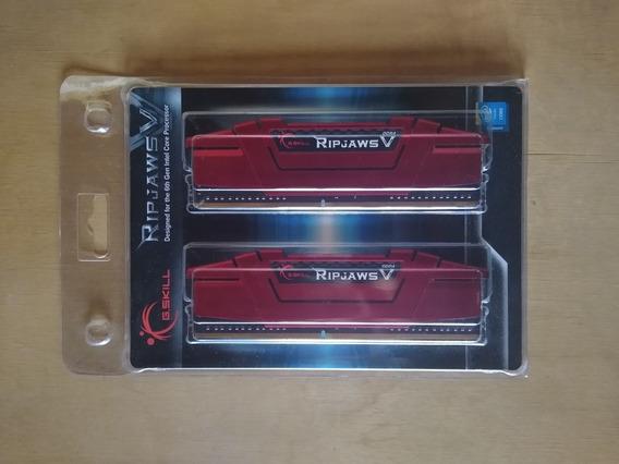 Memoria Ram 8gb Ddr4 Ripjaws V Series (2x4gb)