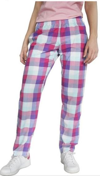 Pantalon A Cuadros Poplin