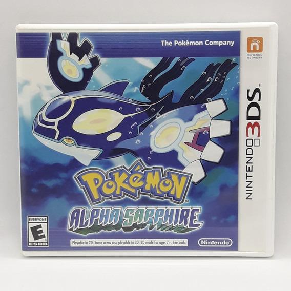 Pokemon Alpha Sapphire Nintendo 3ds Midia Fisica Jogo Game