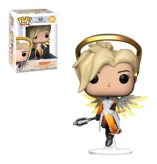 Figura Funko Pop Games Overwatch - Mercy 304