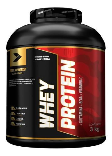 Imagen 1 de 7 de Whey Protein 3 Kg. Proteína Pura. Body Advance