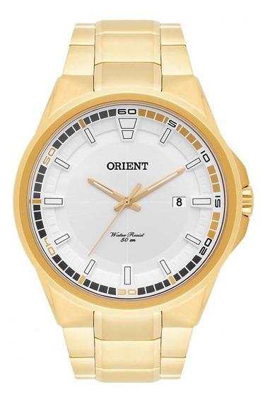 Relógio Dourado Masculino Orient Neo Sports Mgss1135-s2kx