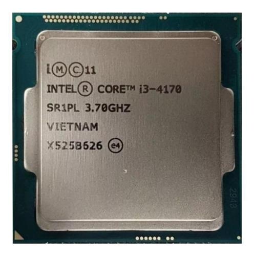 Imagem 1 de 2 de Processador Gamer Intel Core I3-4170 2 Núcleos E 3.70ghz