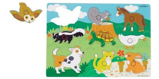 Puzzles De Madera Ryans Room Small World Toys - Animales