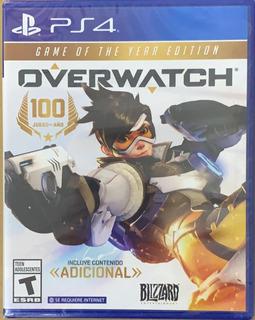 Overwatch Game Of The Year Ps4 Juego Original Fisico Sellado