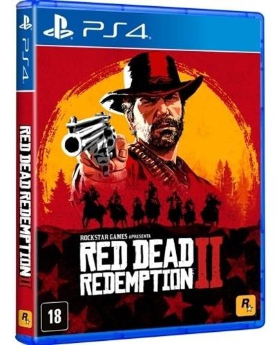 Red Dead Redemption 2 Ps4 Mídia Física Novo Português