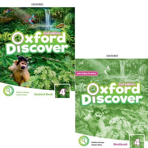 Oxford Discover 4 - Student´s Book Y Workbook - 2nd Edition