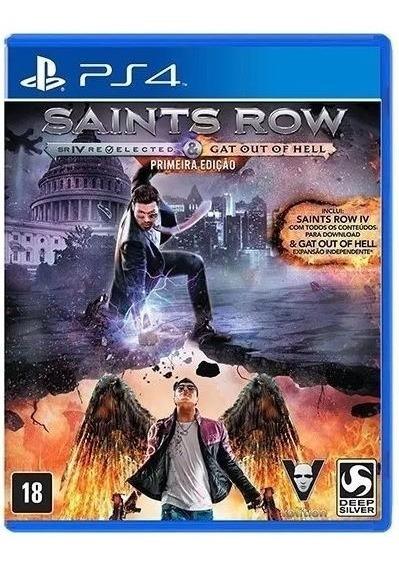 Saints Row Ps4 Midia Fisica